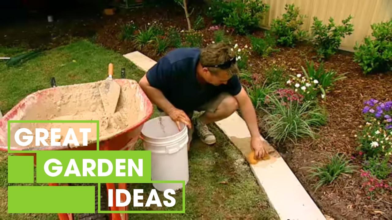How To Make Great Garden Edging | Gardening | Great Home Ideas
