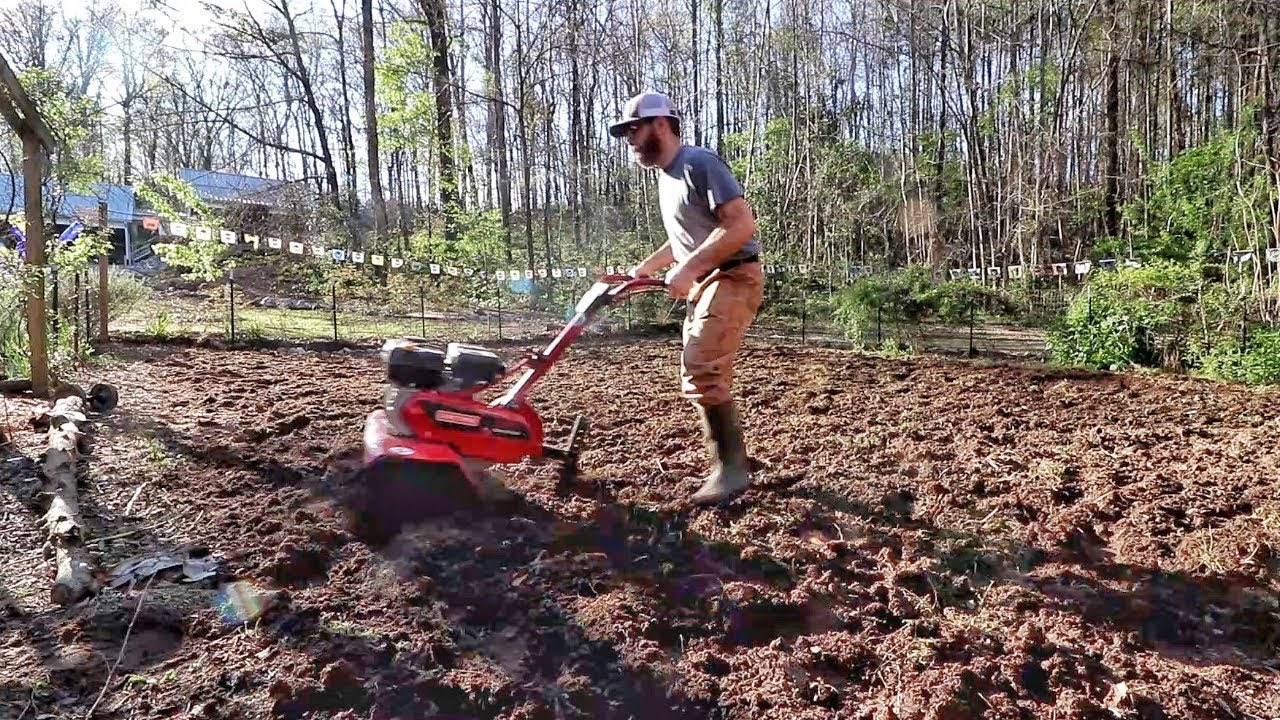 Spring Is In The Air, & That Means GARDENING! (Prepping The Garden)