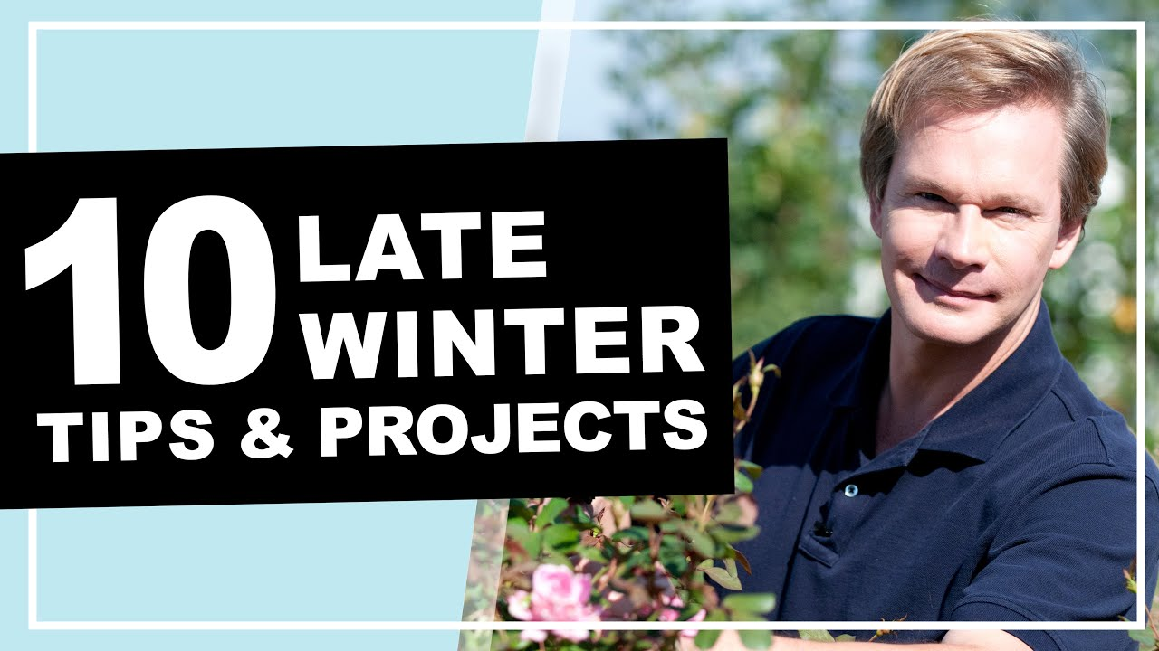 10 Late Winter Gardening Tips & Projects | P. Allen Smith (2020)