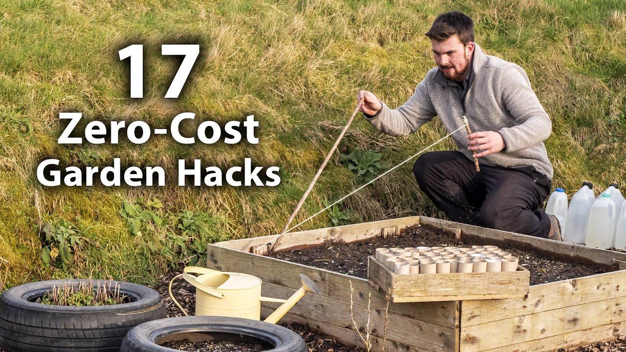 17 Brilliant FREE Vegetable Gardening Hacks   More Food for Less Effort