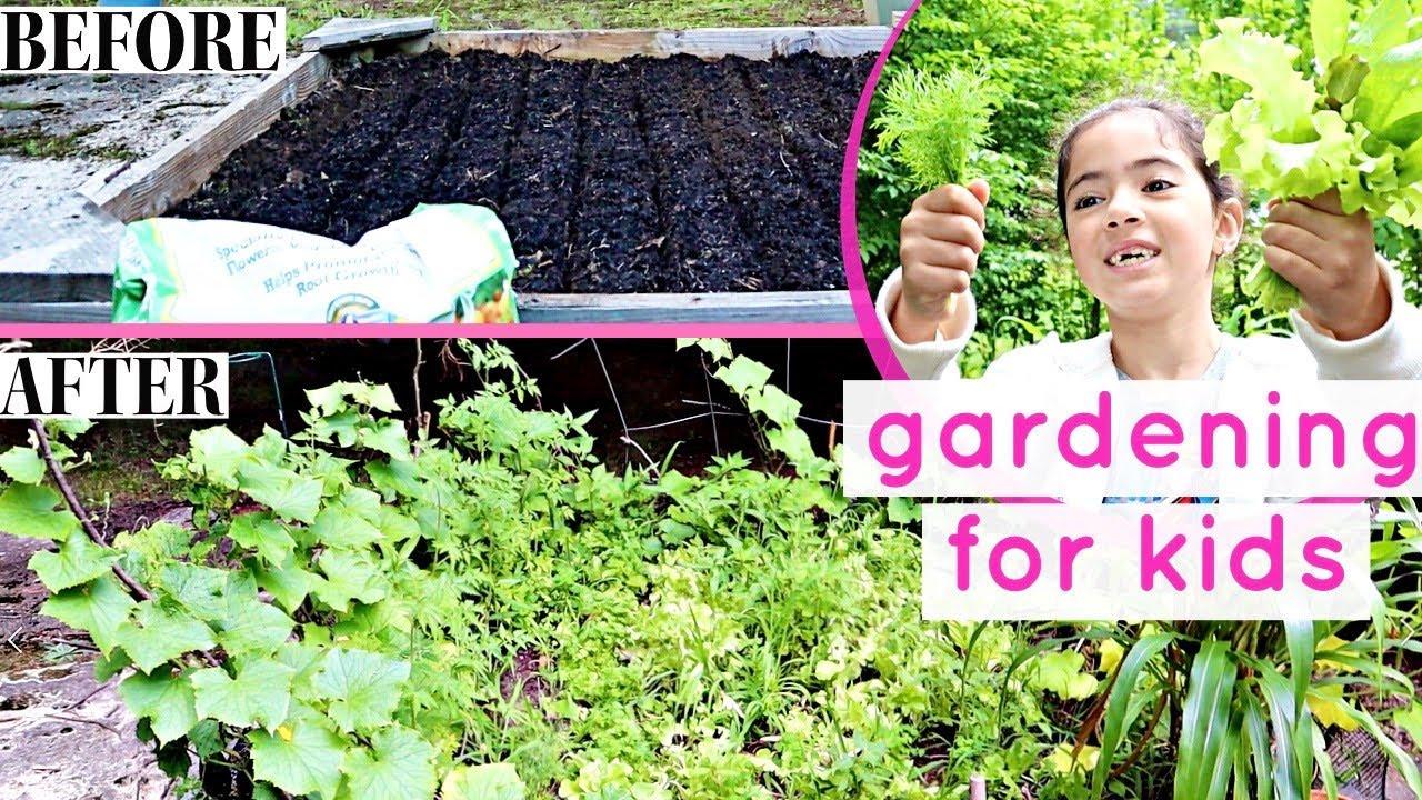 HOW TO START A GARDEN | Gardening for kids