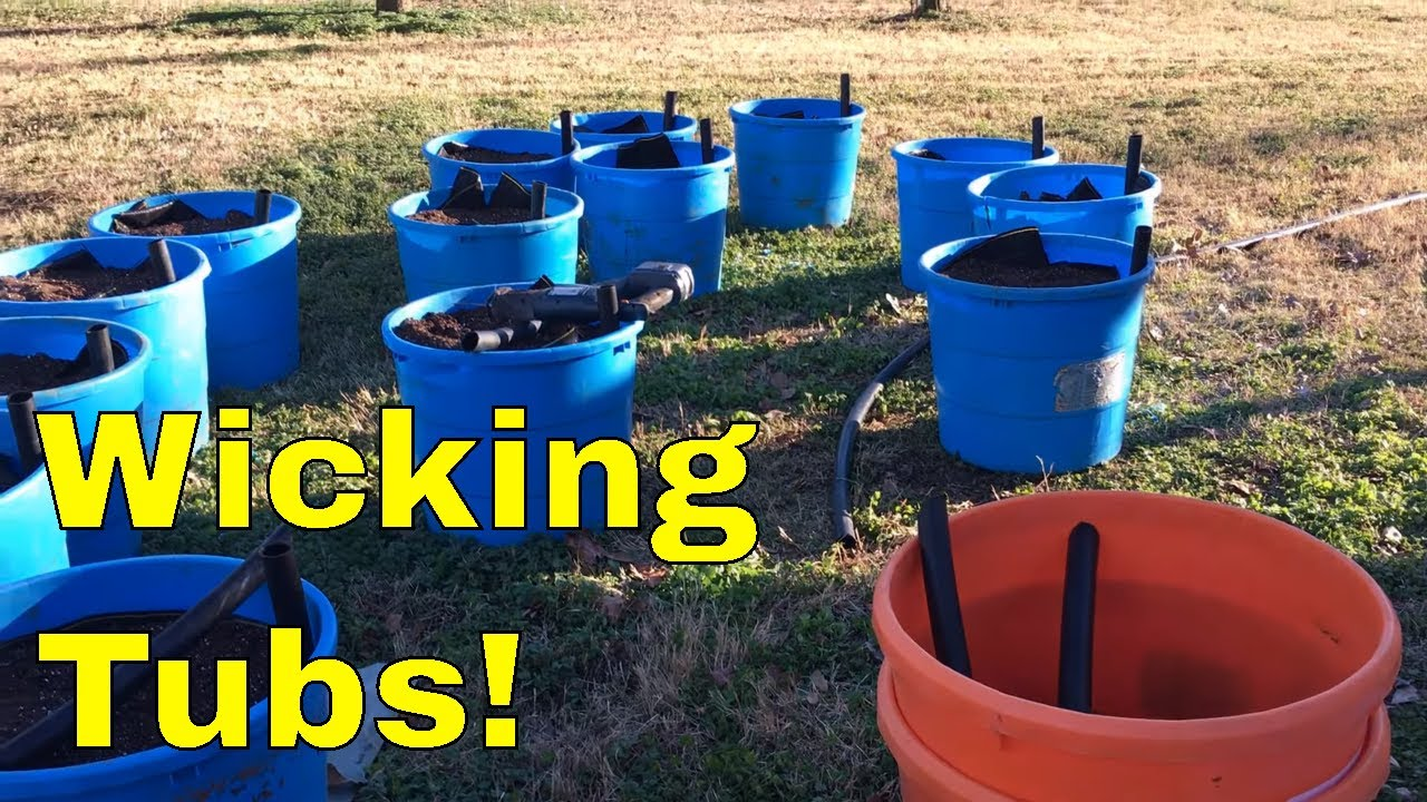 🌽Building (Gardening With Leon's) Wicking Tubs 💦 DIY 🌱Detailed Instructions👀