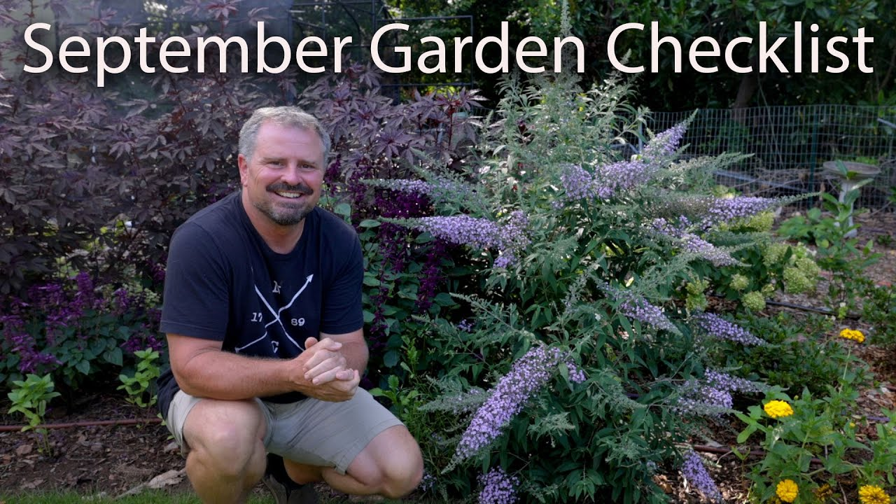 September Garden Checklist - Fall Gardening Tips
