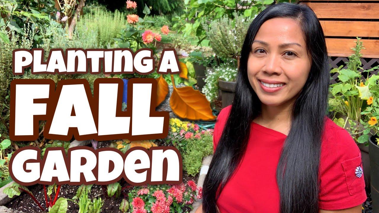 Planting A Fall Garden / Container Gardening