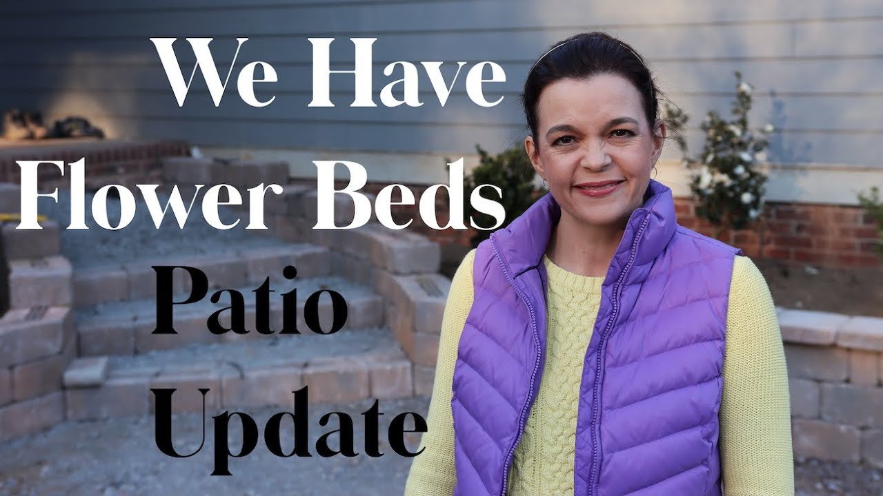 We Have Flower Beds! Patio Update // Gardening with Creekside