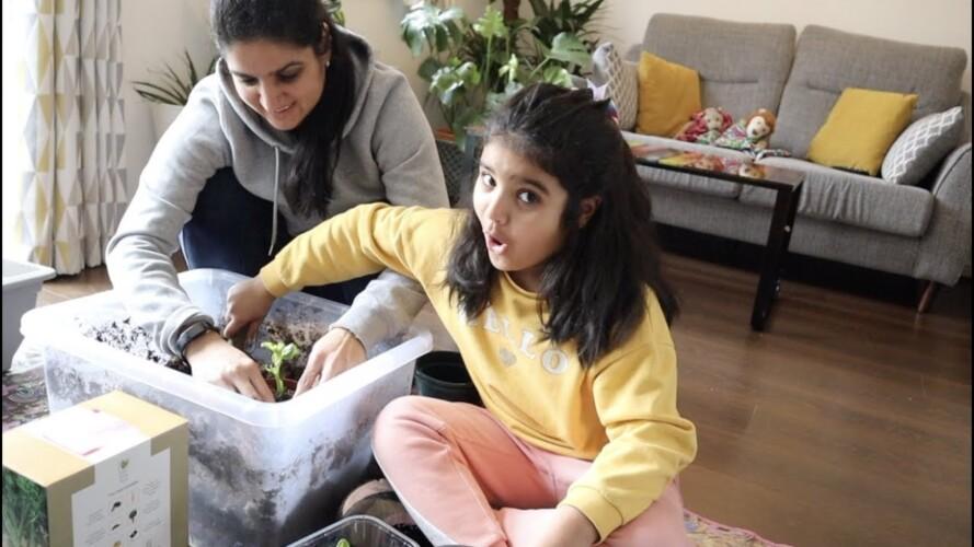 GARDENING GROWTH UPDATE- MOTHERS DAY GIFT KYA MILA SONIA KO|  THE SANGWAN FAMILY