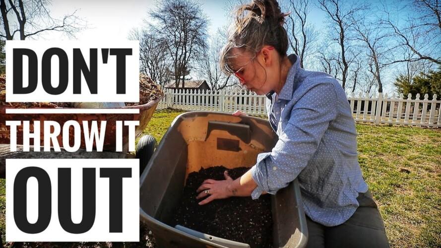 RECHARGE Potting Soil | Vertical Patio Gardening