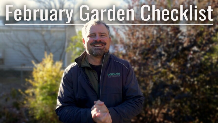 February Gardening Checklist🌱✔
