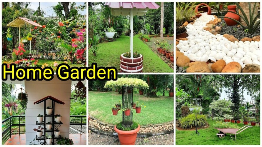 Home Garden Challenge | Garden Tour with beautiful Gardening & DIY ideas | Contestant # 1