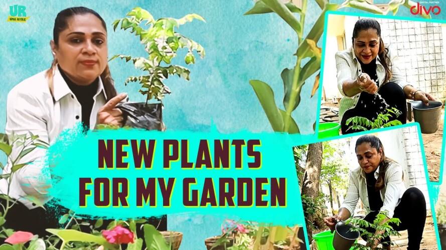 New Plants For My Garden | Gardening Hacks ft. Uma Riyaz