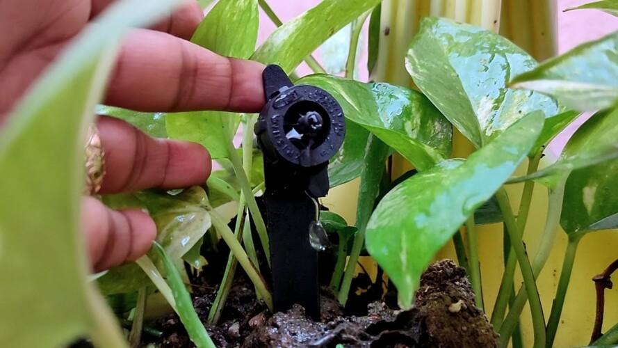 Solving the biggest problem in gardening | Trust Basket के Drip-irrigation को फिट करने की जानकारी