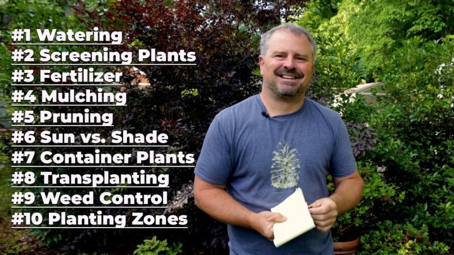 Top 10 Gardening Questions