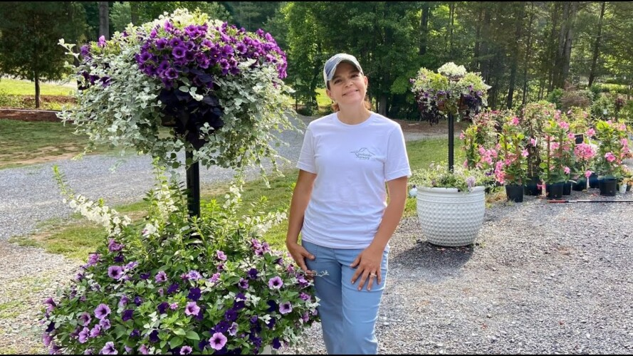 Creating a Beautiful Tiered Planter | Gardening with Creekside