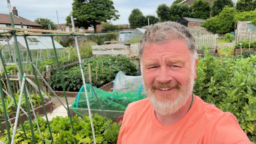 Garden Inspection | Allotment Gardening With Tony
