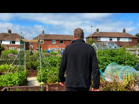 Leaving The Garden | Allotment Gardening With Tony
