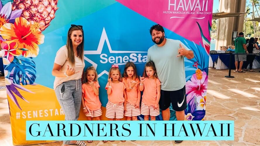 GARDNERS Traveling To HAWAII