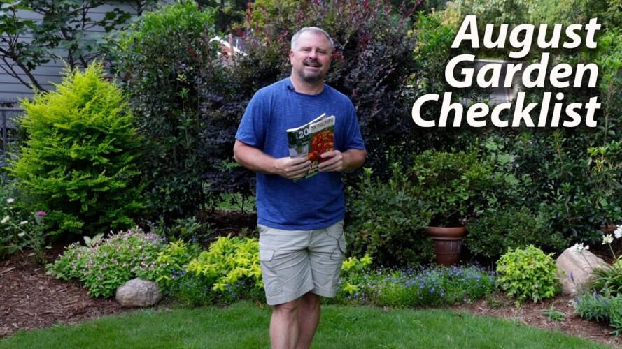 August Garden Checklist - Summer Gardening