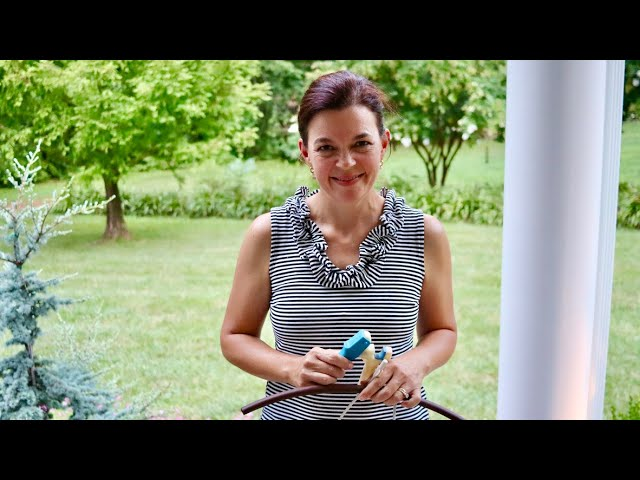 How To Install Drip Irrigation to Hanging Baskets | Gardening with Creekside