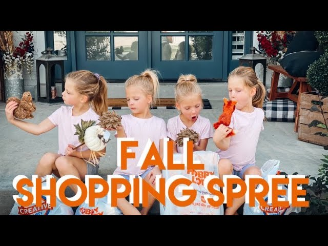 FALL SHOPPING SPREE: BREAKING MOM'S #1 RULE WHILE SHE'S OUT OF TOWN