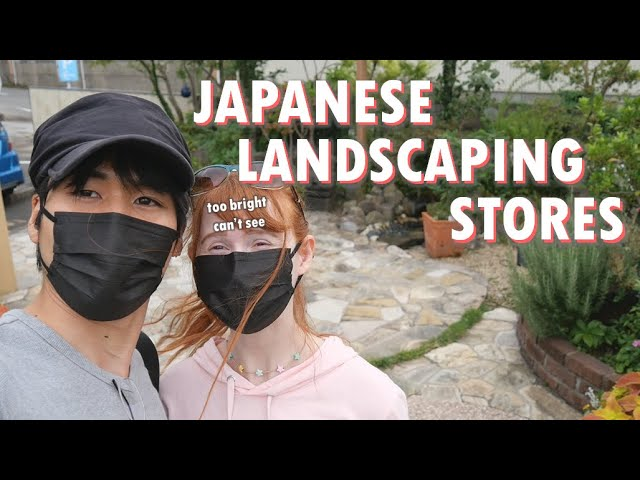 Japanese landscaping and gardening stores