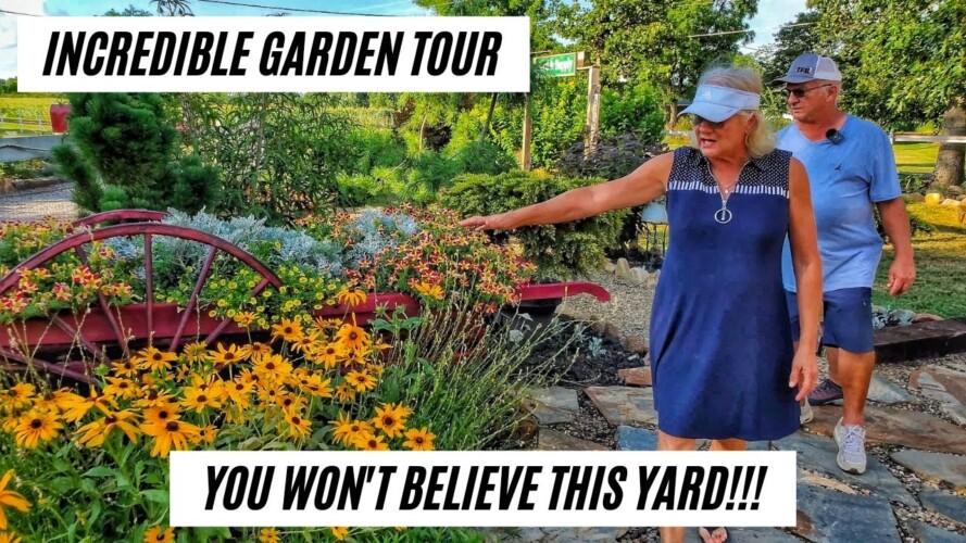 GARDEN TOUR: This Couple Was Brand New to Gardening!